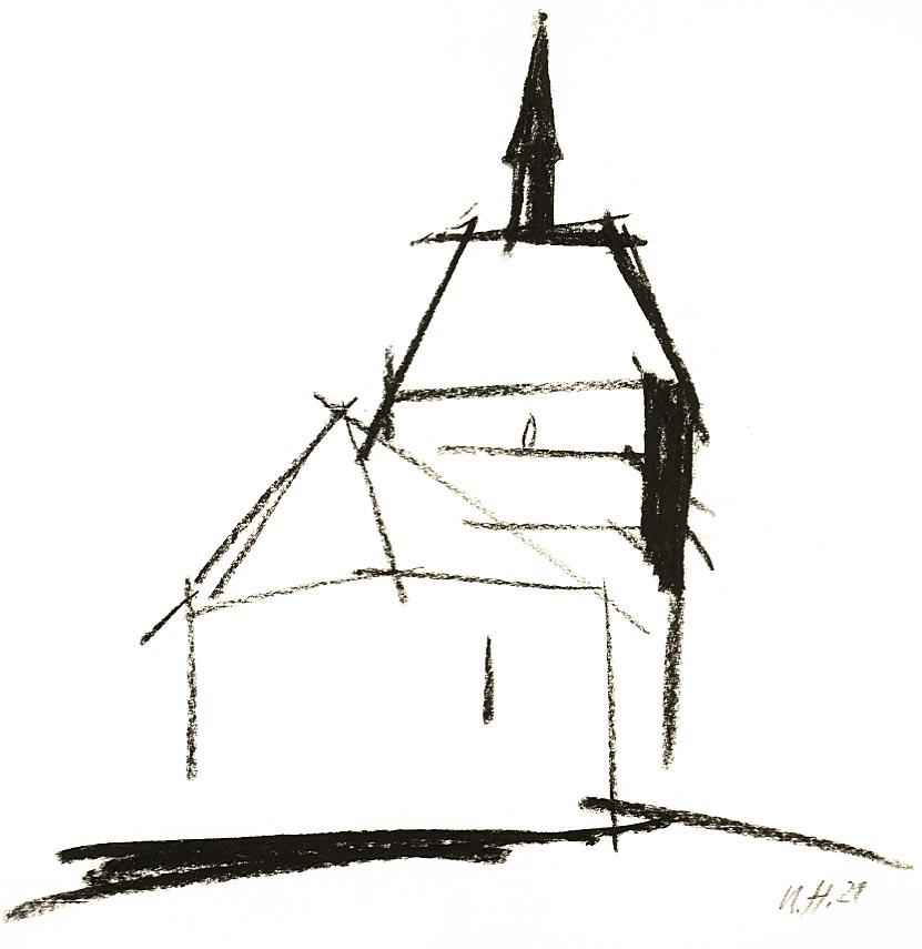 Zeichnung Ursula Strozynski
